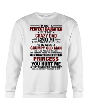 HE HAS ANGER ISSUES - BEST GIFT FOR DAUGHTER Crewneck Sweatshirt tile