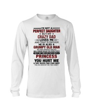 HE HAS ANGER ISSUES - BEST GIFT FOR DAUGHTER Long Sleeve Tee tile