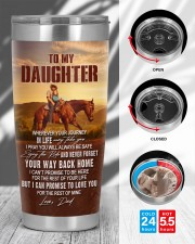 YOUR WAY BACK HOME - BEST GIFT FOR DAUGHTER 20oz Tumbler aos-20oz-tumbler-lifestyle-front-45