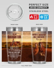 YOUR WAY BACK HOME - BEST GIFT FOR DAUGHTER 20oz Tumbler aos-20oz-tumbler-lifestyle-front-60