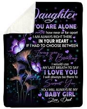 I LOVE YOU - LOVELY GIFT FOR DAUGHTER FROM DAD Sherpa Fleece Blanket tile