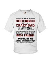 DAD LOVES ME - BEST GIFT FOR DAUGHTER Youth T-Shirt tile