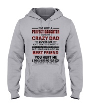 DAD LOVES ME - BEST GIFT FOR DAUGHTER Hooded Sweatshirt front