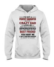 DAD LOVES ME - BEST GIFT FOR DAUGHTER Hooded Sweatshirt tile