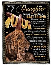 BEST FRIEND - SPECIAL GIFT FOR DAUGHTER Fleece Blanket tile