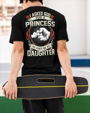 HE GAVE ME MY DAUGHTER - PERFECT GIFT FOR DAD Classic T-Shirt apparel-classic-tshirt-lifestyle-back-67