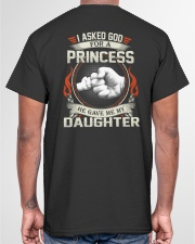 HE GAVE ME MY DAUGHTER - PERFECT GIFT FOR DAD Classic T-Shirt garment-tshirt-unisex-back-04