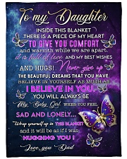 """I BELIEVE IN YOU - PERFECT GIFT FOR DAUGHTER Large Fleece Blanket - 60"""" x 80"""" front"""