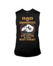 DAD AND DAUGHTER ALWAYS HEART TO HEART Sleeveless Tee tile