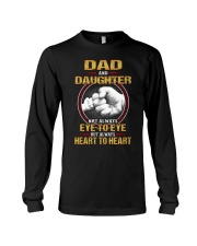 DAD AND DAUGHTER ALWAYS HEART TO HEART Long Sleeve Tee tile