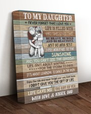 JUST DO YOUR BEST - LOVELY GIFT FOR DAUGHTER 11x14 Gallery Wrapped Canvas Prints aos-canvas-pgw-11x14-lifestyle-front-17