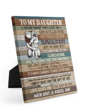 JUST DO YOUR BEST - LOVELY GIFT FOR DAUGHTER 8x10 Easel-Back Gallery Wrapped Canvas thumbnail