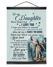 I LOVE YOU - AMAZING GIFT FOR DAD 12x16 Black Hanging Canvas thumbnail