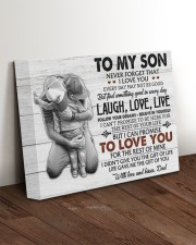 THE GIFT OF LIFE - AMAZING GIFT FOR SON 14x11 Gallery Wrapped Canvas Prints aos-canvas-pgw-14x11-lifestyle-front-17