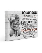 THE GIFT OF LIFE - AMAZING GIFT FOR SON 14x11 Gallery Wrapped Canvas Prints front