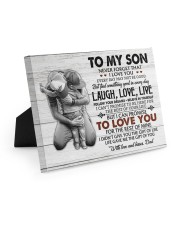 THE GIFT OF LIFE - AMAZING GIFT FOR SON 10x8 Easel-Back Gallery Wrapped Canvas thumbnail