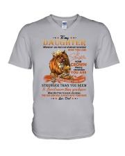 THIS OLD LION  - BEST GIFT FOR DAUGHTER V-Neck T-Shirt tile