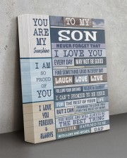 I LOVE YOU - BEST GIFT FOR SON 11x14 Gallery Wrapped Canvas Prints aos-canvas-pgw-11x14-lifestyle-front-15