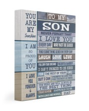 I LOVE YOU - BEST GIFT FOR SON 11x14 Gallery Wrapped Canvas Prints front