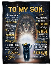 """I LOVE YOU - GREAT GIFT FOR SON Small Fleece Blanket - 30"""" x 40"""" front"""