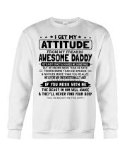 I GET MY ATTITUDE - LOVELY GIFT FOR DAUGHTER Crewneck Sweatshirt tile