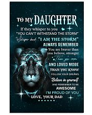 BELIEVE IN YOURSELF - LOVELY GIFT FOR DAUGHTER Vertical Poster tile
