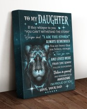 BELIEVE IN YOURSELF - LOVELY GIFT FOR DAUGHTER 11x14 Gallery Wrapped Canvas Prints aos-canvas-pgw-11x14-lifestyle-front-17