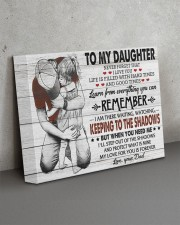KEEPING TO THE SHADOWS - TO DAUGHTER FROM DAD 14x11 Gallery Wrapped Canvas Prints aos-canvas-pgw-14x11-lifestyle-front-15
