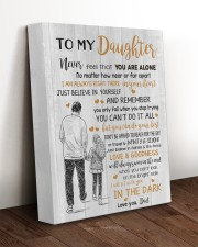 JUST BELIEVE IN YOURSELF - BEST GIFT FOR DAUGHTER 11x14 Gallery Wrapped Canvas Prints aos-canvas-pgw-11x14-lifestyle-front-17