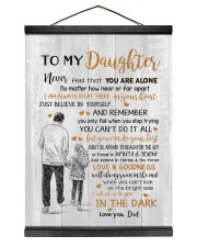 JUST BELIEVE IN YOURSELF - BEST GIFT FOR DAUGHTER Hanging Canvas tile