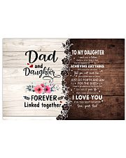 I LOVE YOU - AMAZING GIFT FOR DAUGHTER Horizontal Poster tile