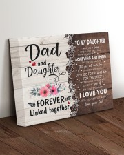 I LOVE YOU - AMAZING GIFT FOR DAUGHTER 14x11 Gallery Wrapped Canvas Prints aos-canvas-pgw-14x11-lifestyle-front-17