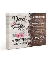 I LOVE YOU - AMAZING GIFT FOR DAUGHTER 14x11 Gallery Wrapped Canvas Prints front