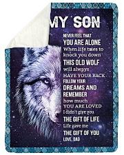 THE GIFT OF LIFE - AMAZING GIFT FOR SON Sherpa Fleece Blanket tile