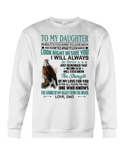 LOOK RIGHT BESIDE YOU - LOVELY GIFT FOR DAUGHTER Crewneck Sweatshirt tile