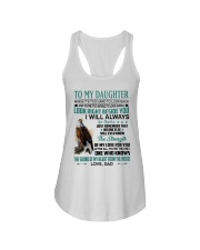 LOOK RIGHT BESIDE YOU - LOVELY GIFT FOR DAUGHTER Ladies Flowy Tank tile