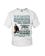 LOOK RIGHT BESIDE YOU - LOVELY GIFT FOR DAUGHTER Youth T-Shirt tile