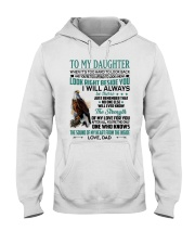 LOOK RIGHT BESIDE YOU - LOVELY GIFT FOR DAUGHTER Hooded Sweatshirt tile