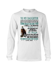 LOOK RIGHT BESIDE YOU - LOVELY GIFT FOR DAUGHTER Long Sleeve Tee tile