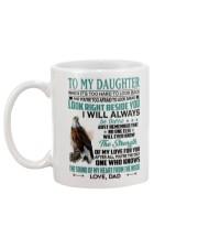 LOOK RIGHT BESIDE YOU - LOVELY GIFT FOR DAUGHTER Mug back