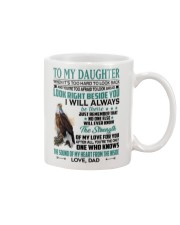LOOK RIGHT BESIDE YOU - LOVELY GIFT FOR DAUGHTER Mug front