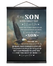 I LOVE YOU - AMAZING GIFT FOR SON Hanging Canvas tile