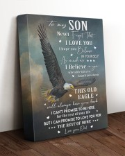 THIS OLD EAGLE - BEST GIFT FOR SON FROM DAD 11x14 Gallery Wrapped Canvas Prints aos-canvas-pgw-11x14-lifestyle-front-17