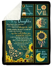 "I HOPE YOU'LL ALWAYS BE SAFE Large Sherpa Fleece Blanket - 60"" x 80"" thumbnail"