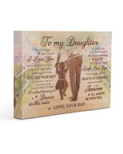 BELIEVE IN YOURSELF - LOVELY GIFT FOR DAUGHTER 14x11 Gallery Wrapped Canvas Prints front