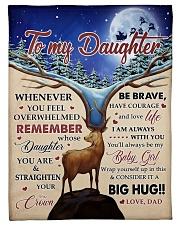 CONSIDER IT A BIG HUG - BEST GIFT FOR DAUGHTER Fleece Blanket tile