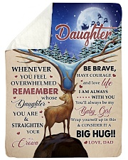"""CONSIDER IT A BIG HUG - BEST GIFT FOR DAUGHTER Large Sherpa Fleece Blanket - 60"""" x 80"""" thumbnail"""