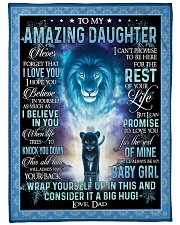 """I HOPE YOU BELIEVE IN YOURSELF Large Fleece Blanket - 60"""" x 80"""" front"""