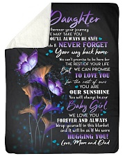 "WE LOVE YOU - GREAT GIFT FOR DAUGHTER Large Sherpa Fleece Blanket - 60"" x 80"" thumbnail"