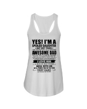 MESS WITH ME - AMAZING GIFT FOR DAUGHTER Ladies Flowy Tank tile